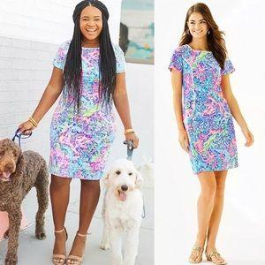 $208 Lilly Pulitzer Coralynn Shift Dress Size 4